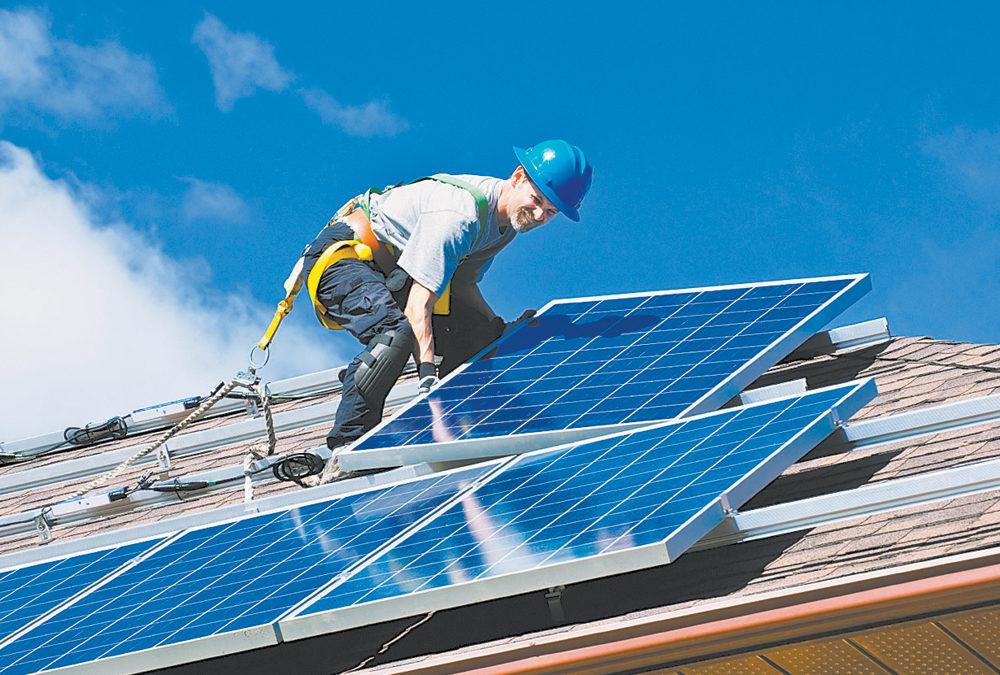 Solar panel leads